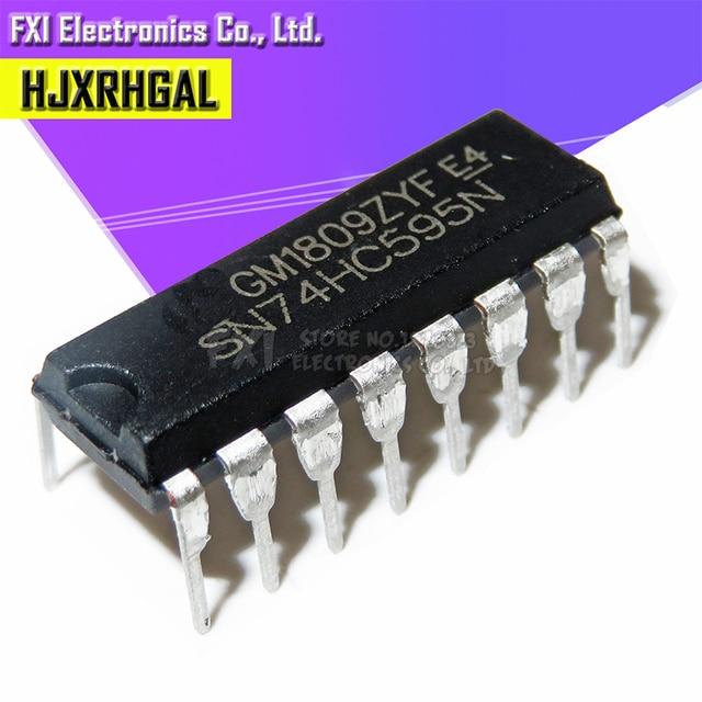 200PCS SN74HC595N SN74HC595 DIP16 DIP 74HC595N 74HC595