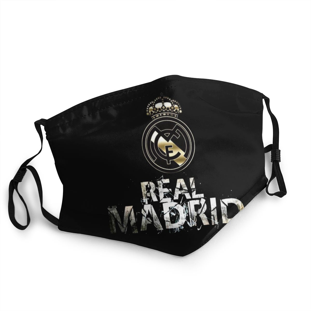 Anti-Dust Cool Logo Mouth Mask Real Madrided Fashion Muffle Face Masks