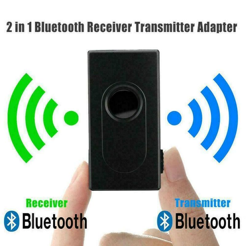 2 In 1 Bluetooth V4.2 Transmitter Receiver Wireless Stereo Supplies Transmitter Adapter Music Audio Adapter Bluet Bluetooth M3Q2
