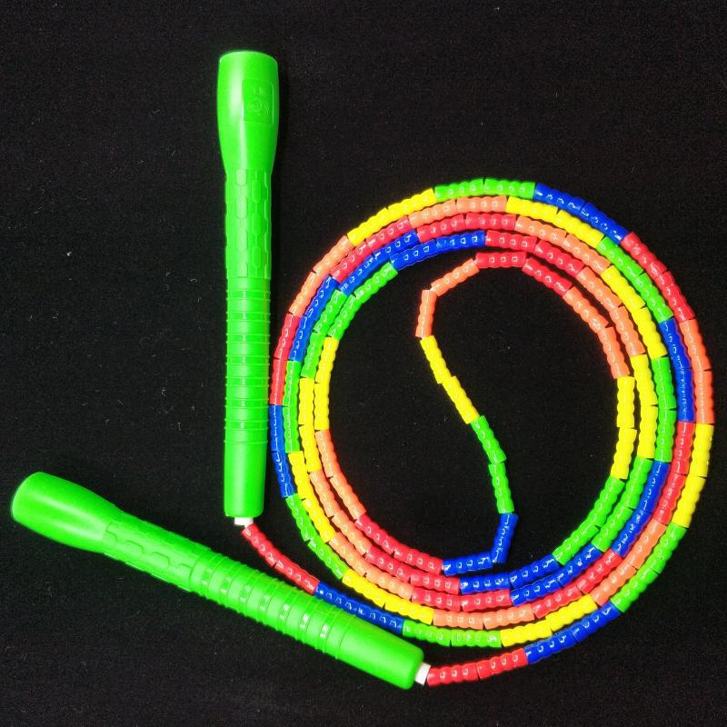 Children Bamboo Joint Pattern Jump Rope Five-color Adult Students Beads The Academic Test For The Junior High School Students Tr