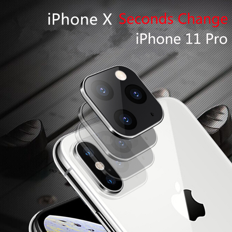 For IPhone Apple X XS Seconds Change 11 Lens Sticker XS MAX Modified 11 PRO MAX Explosion Modified Case Lens 11 PRO MAX Camera