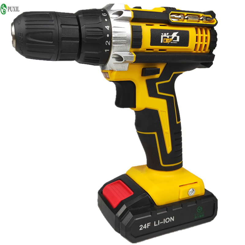 24 Volt Rechargeable Pistol Electric Drill 5805 Electric Screwdriver