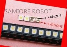 1000 Uds. Luz de fondo LED especial Flip Chip LED 1,5 W 3V 3228 2828 spbwh1322s1kvc1aplicación de TV blanca fresca para SAMSUNG