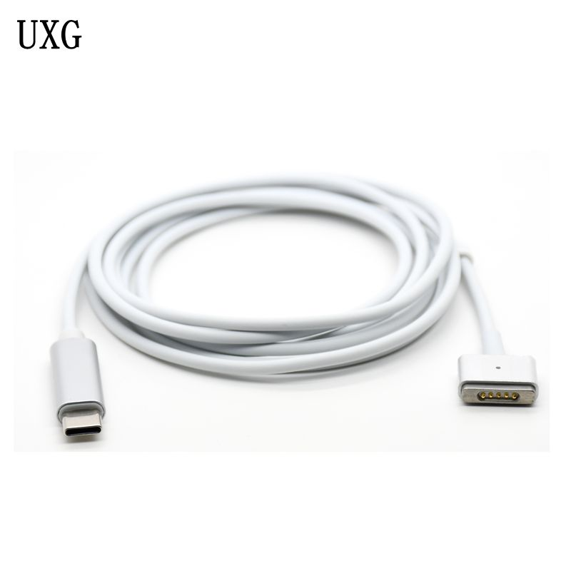 Replacement Magnetic USB-C Type PD MagSaf* 2 T-tip Cable Cord For Apple Macbook Retina Pro Air 30W 61W 87W Charger Power Adapter
