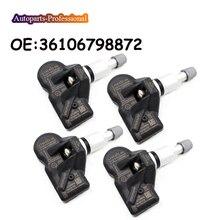 4 pcs/lot Car accessories For BMW 5 6 7 X1 X3 X4 New TPMS Tire Pressure Sensor 433MHz 36106798872 3610-6798-872 TPMS Sensor