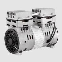 800W silent air compressor head silent air pump painting woodworking dental accessories air pump pump head motor