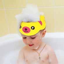 Hat Shower-Hat Bathroom-Products Baby Hair-Shield Bathing-Visor Protect Adjustable Eyes