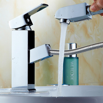 Kitchen Faucet Bathroom Basin Faucet Single Handle Single Hole Mixer Tap Deck Mounted Hot And Cold Tap Sink Faucet kitchen faucet mixers wall mounted single handle mixer tap sink faucet rotation hot cold water mixer mop pool tap basin faucet
