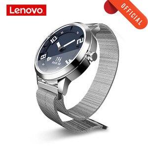 Image 1 - 레노버 시계 사파이어 미러 oled 스크린 스마트 시계 시계 x 심박수 혈압 테스트 smartwatch 8tam 방수