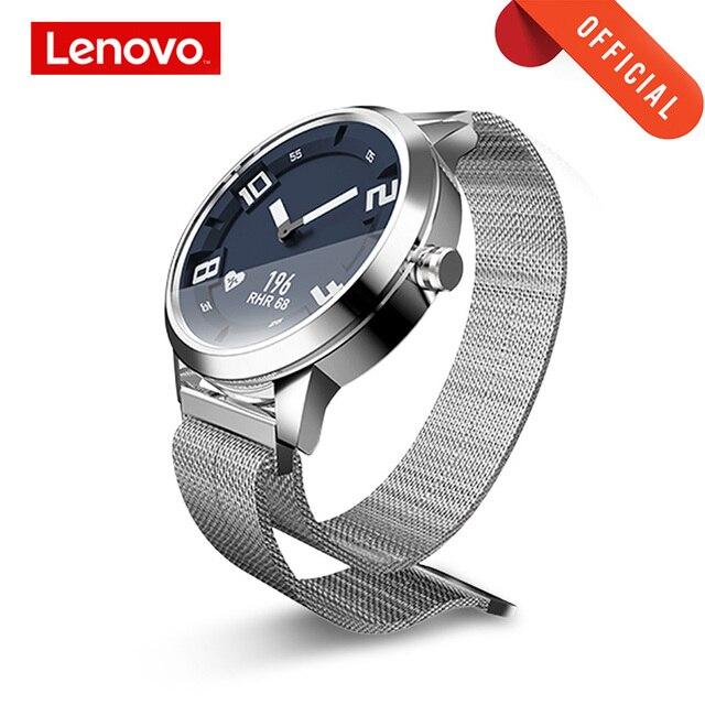 레노버 시계 사파이어 미러 oled 스크린 스마트 시계 시계 x 심박수 혈압 테스트 smartwatch 8tam 방수