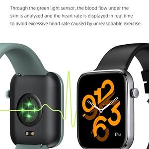 Image 3 - 男性と女性のためのスマートウォッチ,血圧と心拍数を制御するスマートスポーツウォッチ,Android,iOS,2021