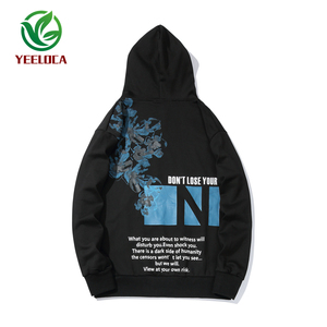 Image 5 - 2019 Dropshipping Herfst Winter Hoodie Mannen Vrouwen Hip Hop Bloemenprint Oversized High Street Band Losse Sweatshirt