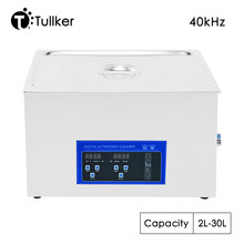 40KHZ Ultrasonic Cleaner Bath 30L 20L 15L 10L 6L Digital Ultrasound Sonic Cleaner Heated Home Industry Lab Clinic Metal Washing