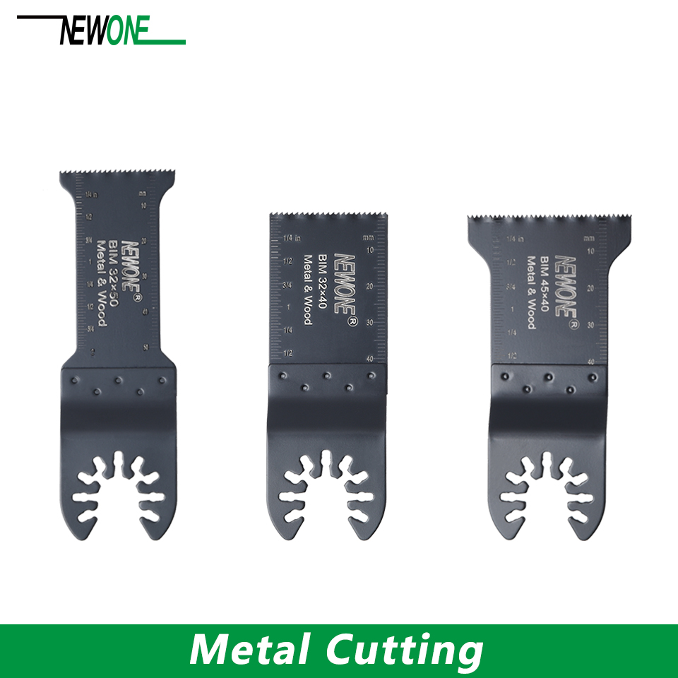 NEWONE Metal Cutting Saw Blade For Quick Release Oscillating Multi Tool Power Tool Dewalt Black Decker Rockwell Nails Eater