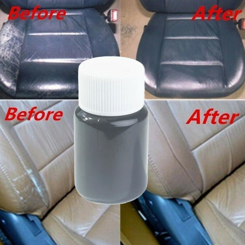 Hot Universal Leather Repair Tool 20ml Car Seat Sofa Coats Holes Scratch Cracks No Heat Liquid Leather Vinyl Repair Kit