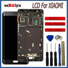 SZHAIYU ЖК-дисплей для Xiaomi Mi Note2 ЖК-дисплей Note 2 с рамкой сенсорный экран дигитайзер сборка с инструментами