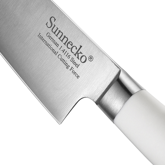 Sunnecko 8 Inch Stainless Steel Chef Knife 5