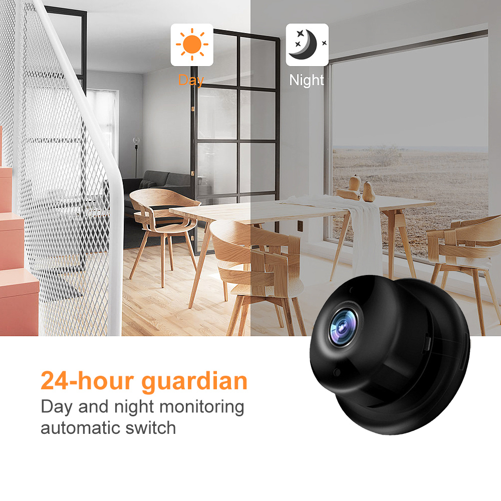 720P Wireless Mini IP Camera With Night Vision Micro Cam For Your Home Security 2