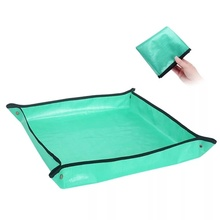 Square-Mat Tarp Bonsai Transplanting Succulent Waterproof Indoor 68cm 100cm Dirty-Catcher