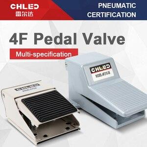 Цилиндрический клапан пневматический ножной клапан 4F210-08L/4F210-08G педаль ножной переключатель клапан FV320 Цилиндр управления клапан Реверсивн...
