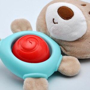 Image 5 - יילוד תינוק קטיפה עגלת צעצוע תינוק רעשנים מוביילים קריקטורה בעלי החיים תליית פעמון חינוכי בייבי 0 12 חודשים speelgoed