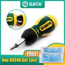 Destornillador de trinquete magnético 6 en 1, herramienta de mano de varias puntas para reparación de Notework, herramienta de desmontaje 09348 + 2 uds. Máscara gratis
