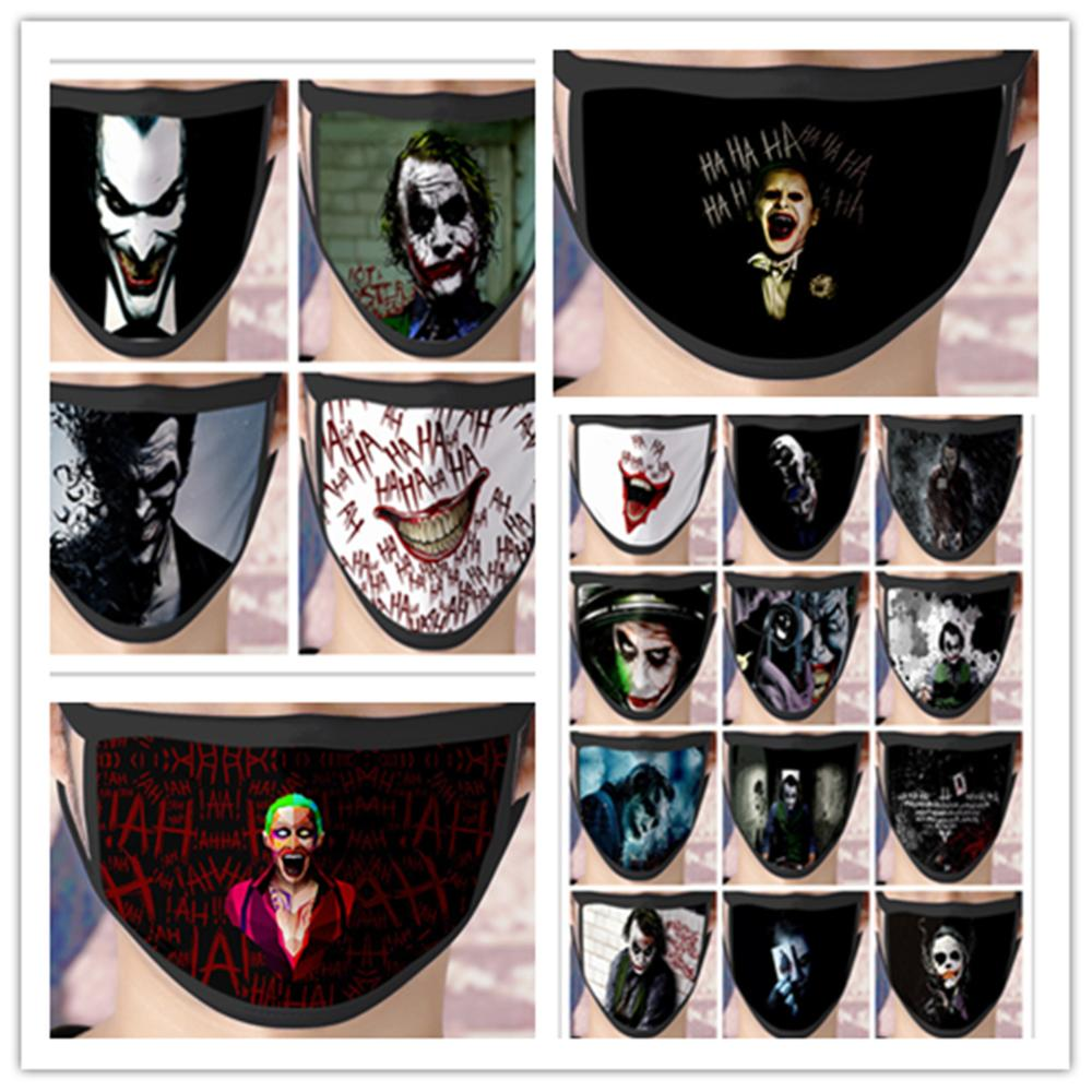 New Batman Joker Cosplay Mask Costume Accessories The Dark Knight Heath Ledger Mascarillas Ice Silk Masks