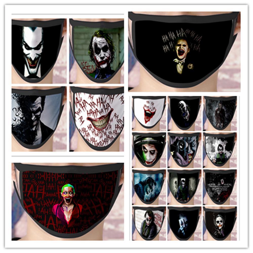 New Batman Joker Cosplay Mask Costume Accessories The Dark Knight Heath Ledger Mascarillas Ice Silk Masks