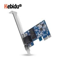 PCI Express PCI-E Network Card 1000Mbps Gigabit Ethernet 10 100 1000M RJ-45 LAN Adapter Converter Network Controller Latest cheap kebidu Wireless 10 100 1000Mbps Internal Laptop 600 Mbps 802 11n 1000M Ethernet TOM000063