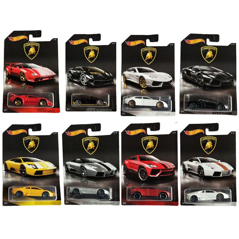 Hot Wheels 1:64 Car LAMBORGHINI AVENTADOR URUS REVENTON ESTOQUE Collector Edition Metal Diecast Model Cars Kids Toys Gift