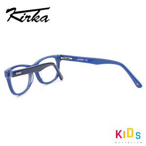 Image 4 - Kirka Optical Children Glasses Frame Acetate Glasses Children Flexible Protective Kids Glass Diopter Eyeglasses For 6 10 Years