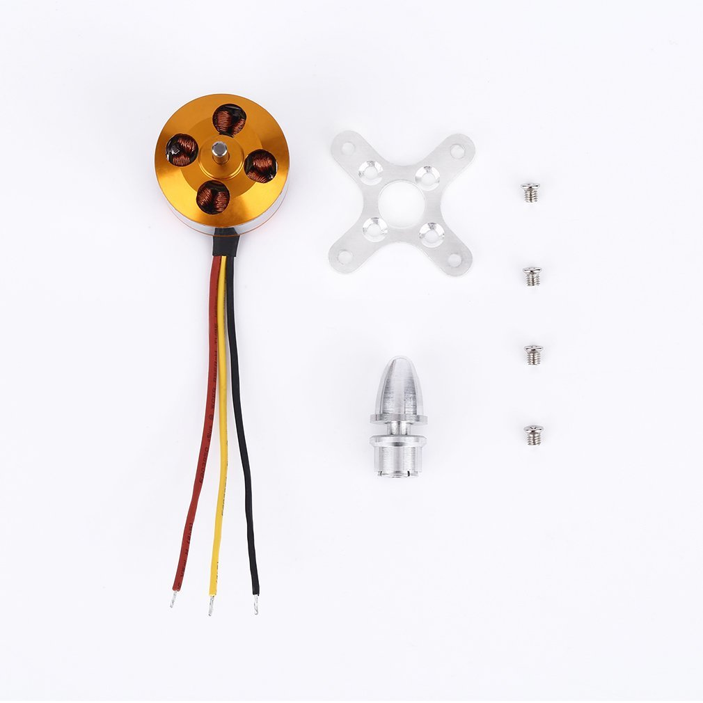 High Effective A2212 KV2200 Brushless Motor For RC Multirotor Aircraft Model Airplane Accessories Best Replacement Parts