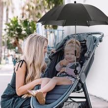 1 sztuk odpinany wózek dziecięcy Parasol regulowany wózek pokrowiec na wózek dziecięcy promienie UV Parasol przeciwsłoneczny Parasol deszcz Protecter narzędzia do pracy na zewnątrz