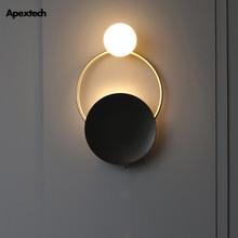 Art Deco LED Wall Lamp Nordic Postmodern Retro Designed Light Bedroom Living Room Coffee Hotel Vintage