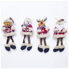 Kerst Pop Ornamenten Kerstman Pop Hanger Kerstboom Knuffel Opknoping Dropshipping(China)