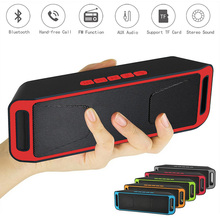 Bluetooth Speakers Wireless Subwoofer 3.5MM AUX USB Jack TF Card FM Radio Stereo Soundbar For Xiaomi Huawei Phones MP3 Player