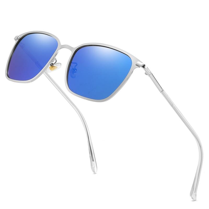 Mens Polarized Sunglasses for Sports Outdoor Night Driving Sunglasses Polaroid Metal Frame Sun Glasses for Men Gafas De Sol