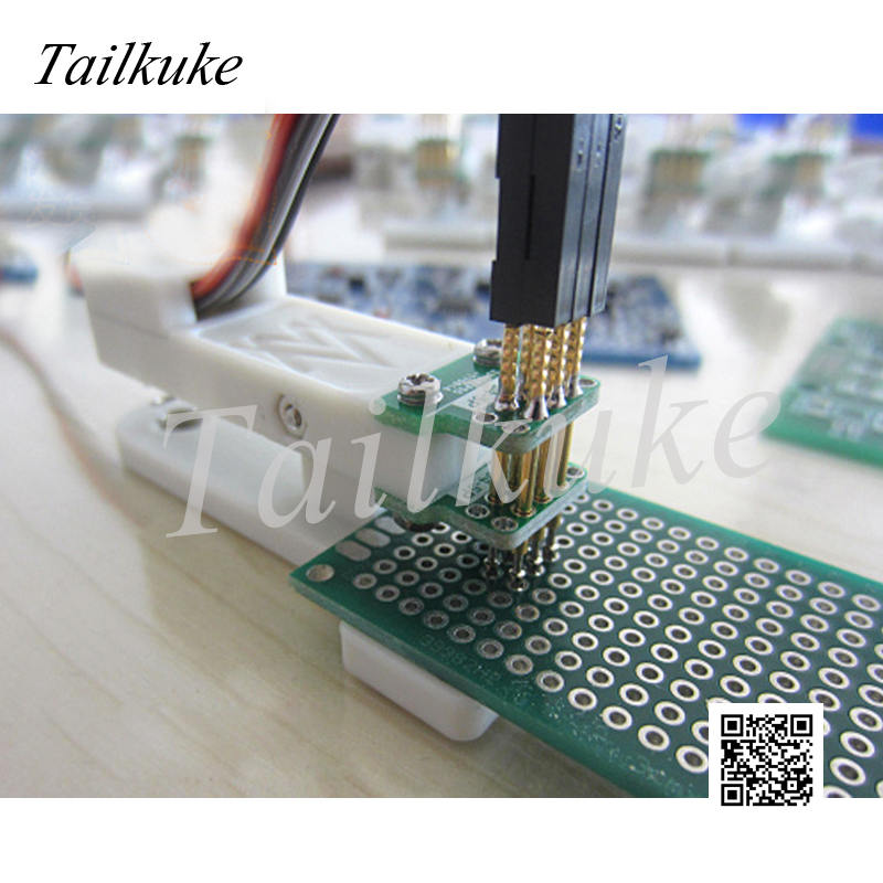 Burning Fixture Debug Download Pogo Pin 2.54mm-3P Double Row STM32 STC Row Pitch 2.54
