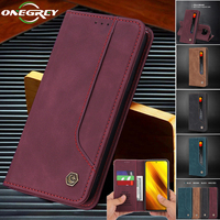 Funda con tapa magnética para Xiaomi Mi Poco M3 X3 11 Ultra 10T Pro Lite Redmi Note 9T 10 S K40 Pro Max, funda Retro con billetera para tarjetas de teléfono