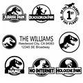 Крутой дизайн динозавр парка Юрского периода автомобильные наклейки и наклейки на автомобили виниловая оболочка Deca мотоциклетный Стайлин...