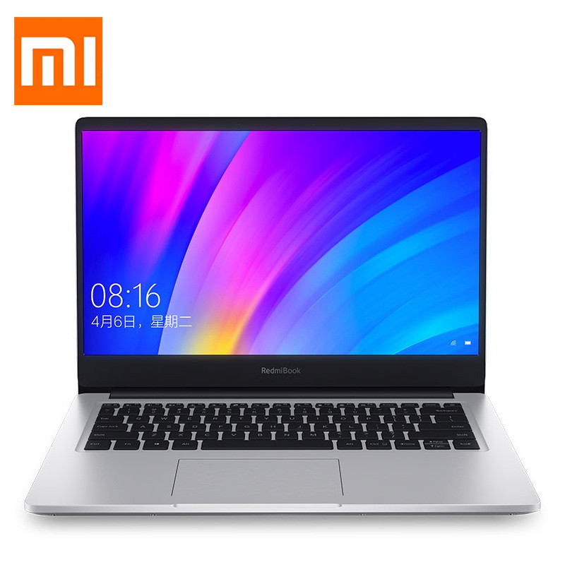 Xiaomi Redmibook 14 pouces ordinateur portable Intel Core i5-10210U Quad Core NVIDIA GeForce MX250 8GB 512GB SSD DDR4 Win10 ordinateur portable Ultra-mince