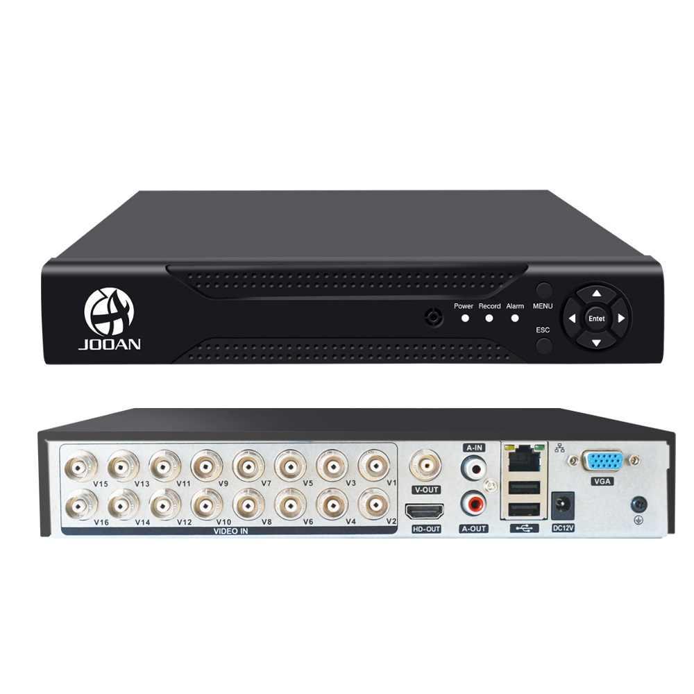 16CH DVR TVI AHD التناظرية كاميرات اي بي HD P2P سحابة H.264 VGA HDMI AHD TVI CVI 16CH مسجل دي في أر مسجل فيديو مع 2 تيرا بايت قرص صلب