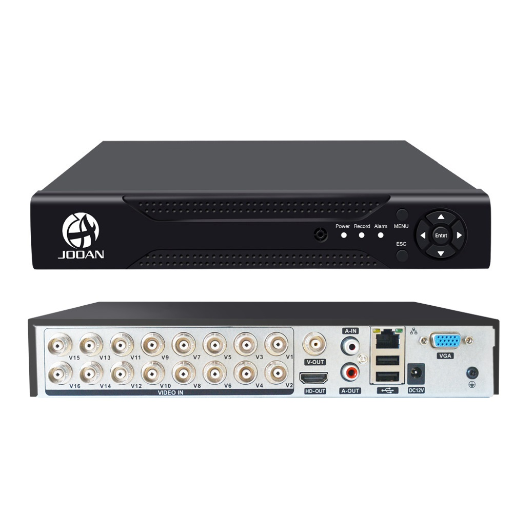 DVR 16CH TVI AHD Analog 16CH 5in1 AHD IP Cameras HD P2P Cloud H.264 VGA HDMI AHD TVI CVI 16CH DVR Hybrid Recorder Video Recorder