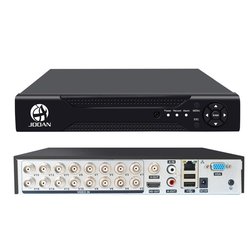DVR 16CH TVI AHD Analog 16CH 5in1 AHD IP Cameras HD P2P Cloud H.264 VGA HDMI AHD TVI CVI 16CH DVR Hybrid Recorder Video Recorder