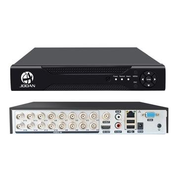 DVR 16CH TVI AHD Analog 5in1 IP Cameras HD P2P Cloud H.264 VGA HDMI CVI Hybrid Recorder Video - discount item  68% OFF Video Surveillance