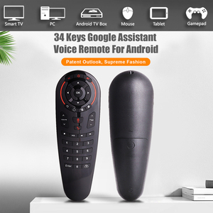 Image 2 - G30 Google Voice Air Mouse g30s 2.4GHZ Draadloze Afstandsbediening Zoek Assistent airmouse Voor Xiaomi X96max Mag 232 HTv 5 Tv Box