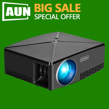BIG SALE. LED Projector C80, MINI Projector 3D Home Theater. C80UP Android WIFI Bluetooth HDMI Video Beamer for 4K 1080P