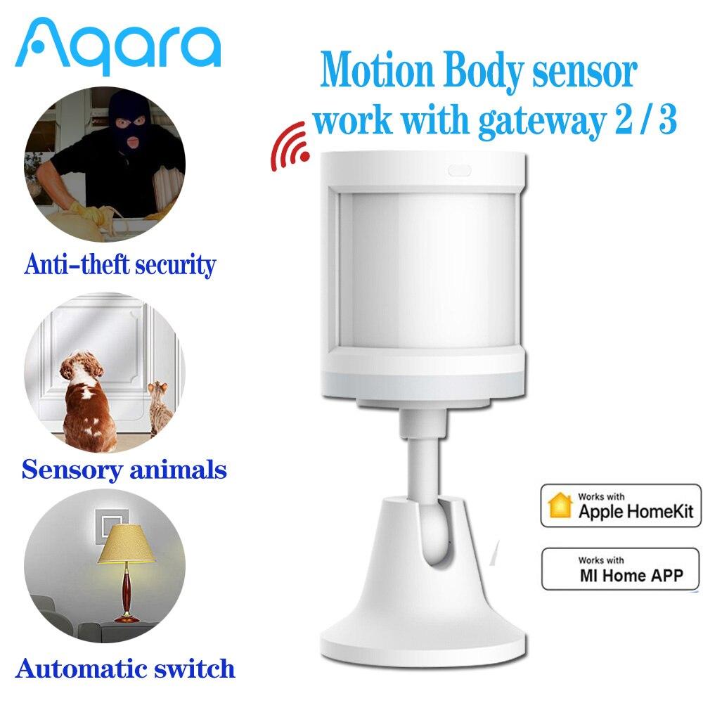 Aqara Motion Sensor Human Body Sensor Movement ZigBee Wireless Connection For Alarm System For Homekit Xiaomi mijia APP