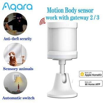 Aqara Motion Sensor Human Body Sensor Movement ZigBee Wireless Connection For Alarm System Work with Apple Homekit/Xiaomi mijia