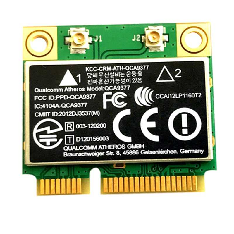 QCA9377 Dual Band AC WIFI Module WIFI Adapter Mini PCI-E 2.4G/5G